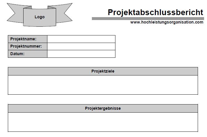 Projekt-Abschlussbericht - Kostenloser Download von Dr. Patrick Fritz